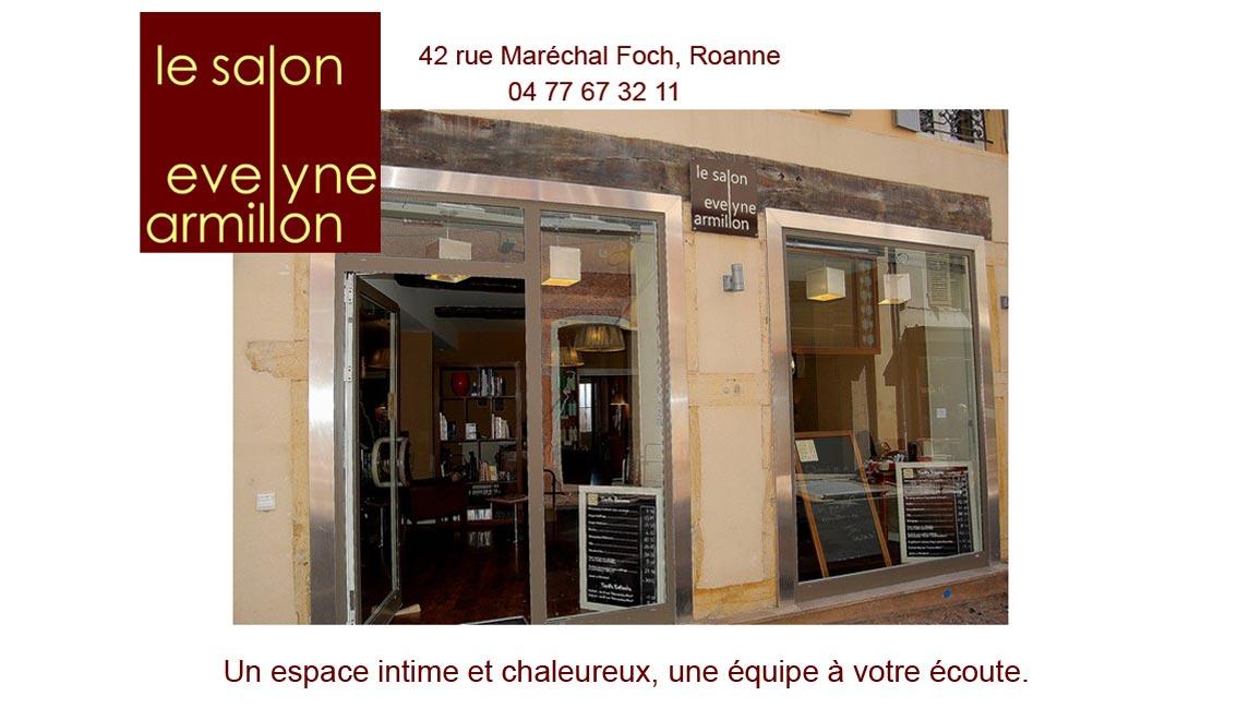 Accueil for Salon coiffure roanne